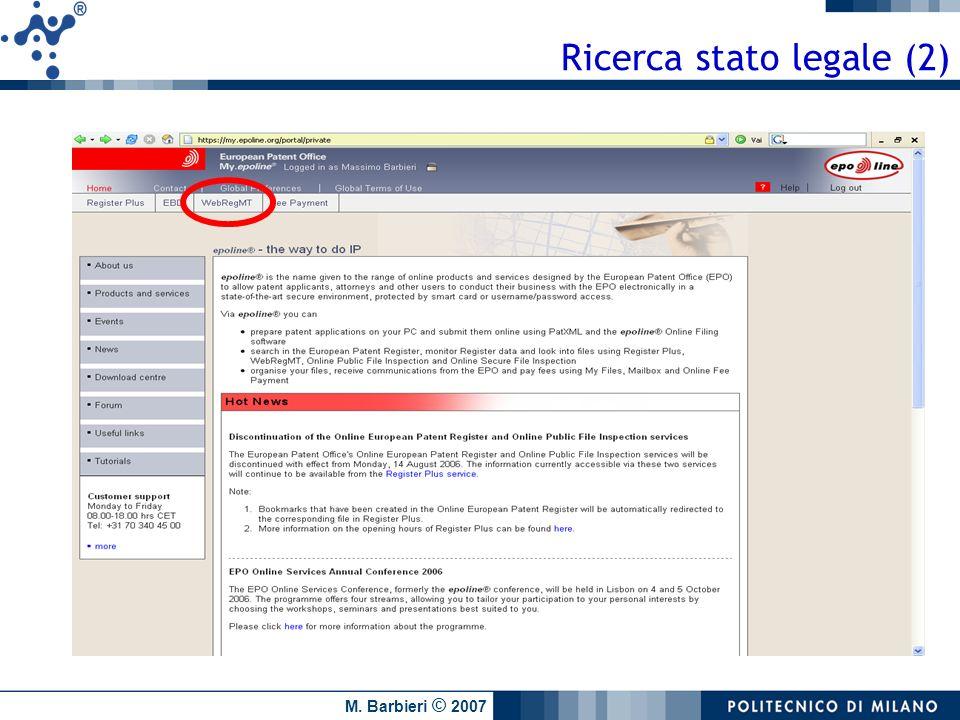 Ricerca stato legale (2)