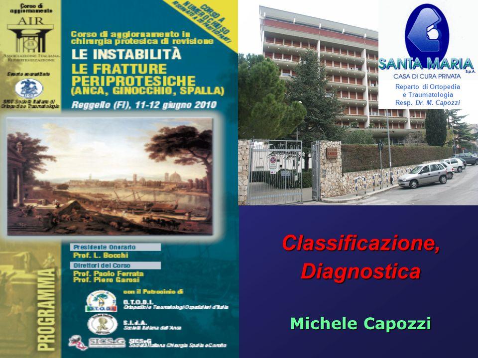 Reparto di Ortopedia e Traumatologia Resp. Dr. M. Capozzi
