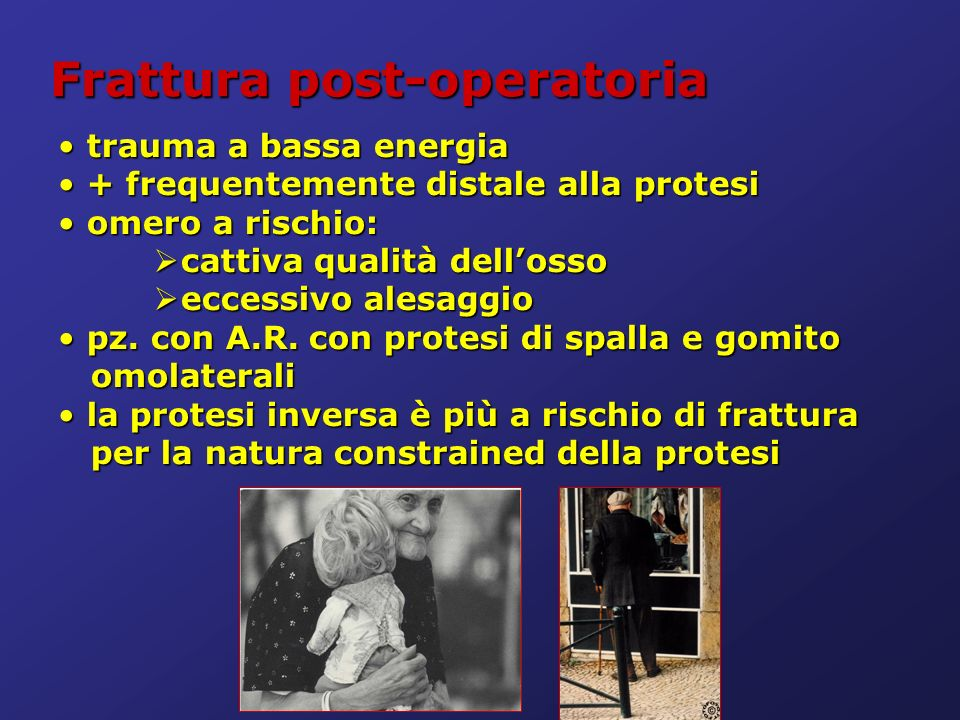 Frattura post-operatoria