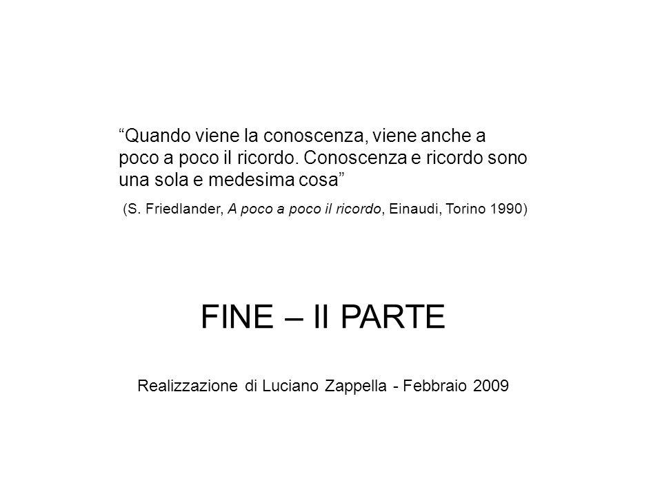Realizzazione di Luciano Zappella - Febbraio 2009
