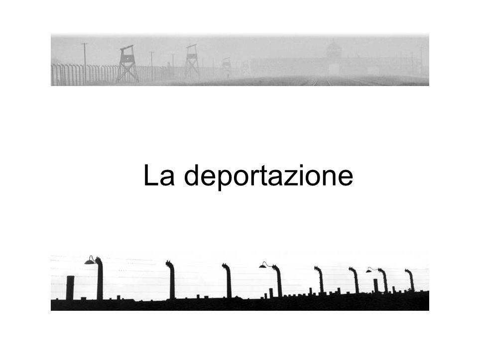 La deportazione