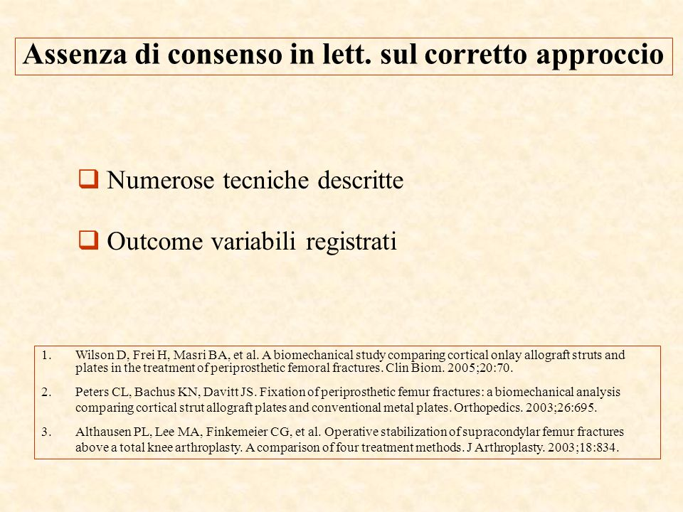Assenza di consenso in lett. sul corretto approccio
