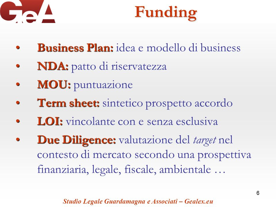 Funding Business Plan: idea e modello di business