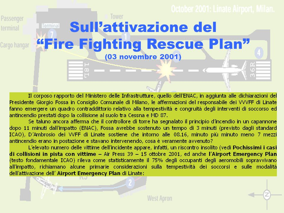 Fire Fighting Rescue Plan