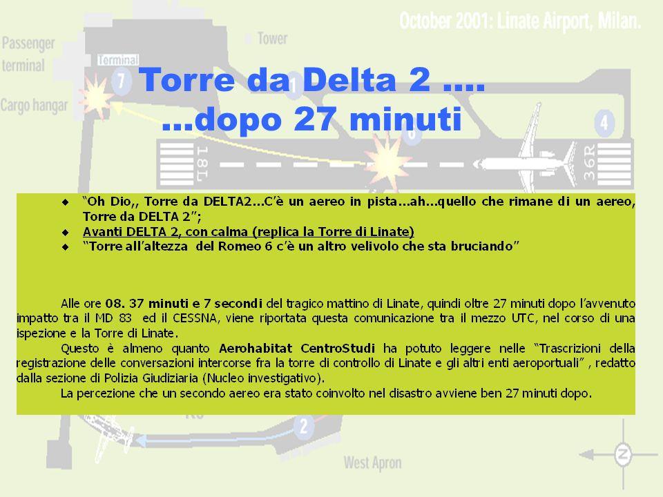 Torre da Delta 2 …. …dopo 27 minuti