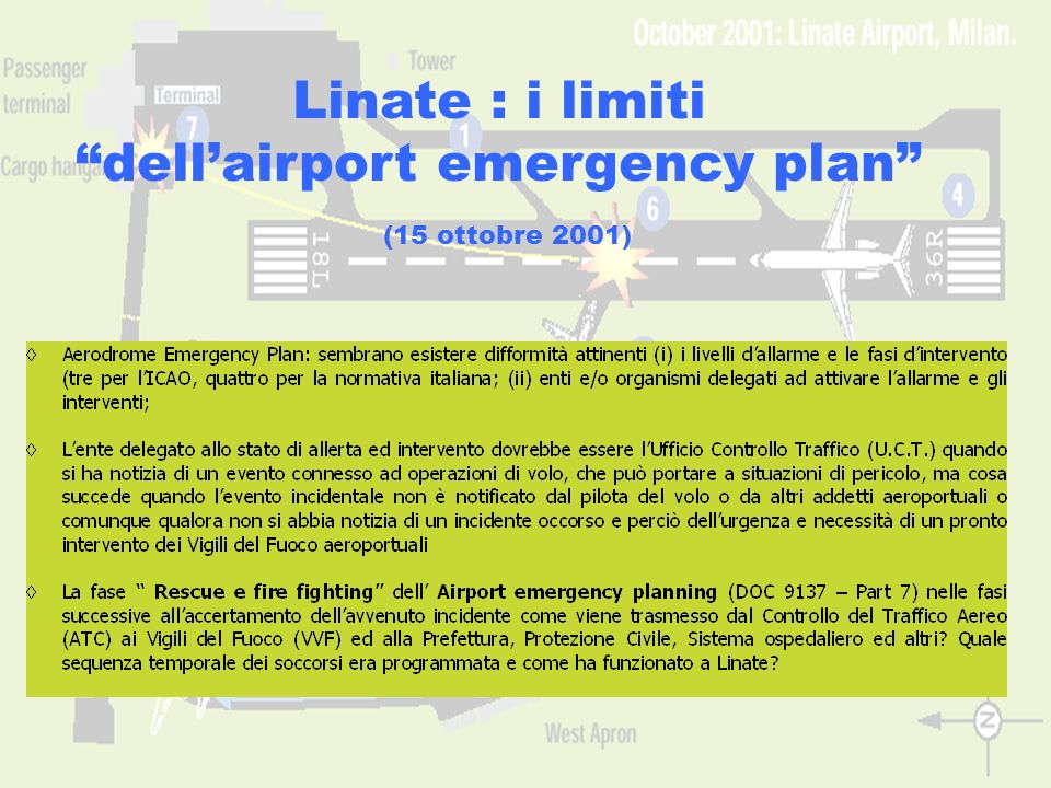 dell'airport emergency plan