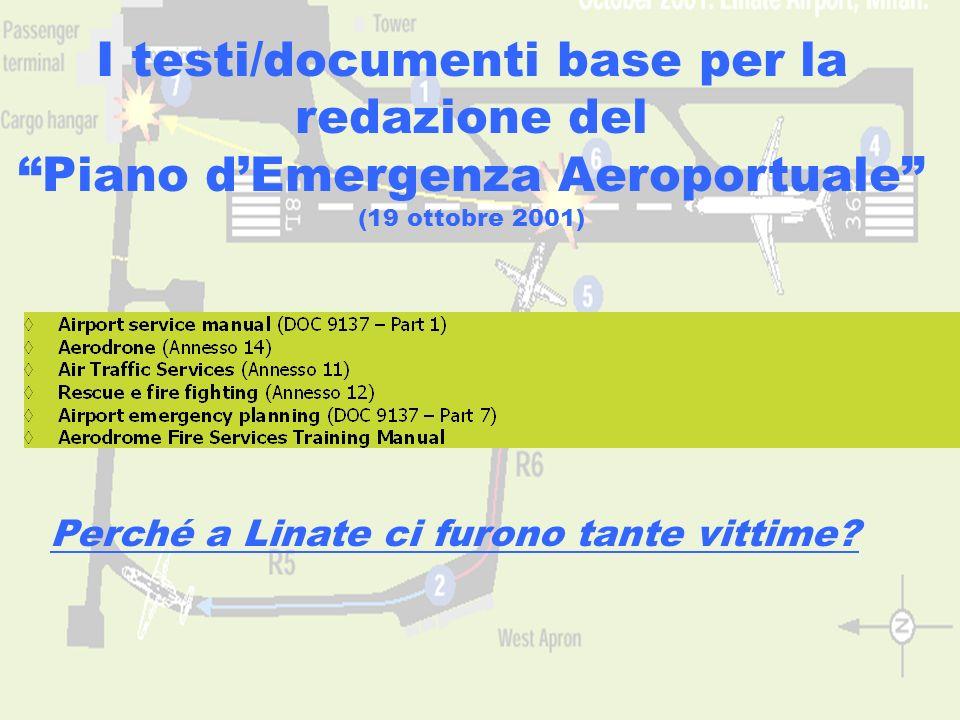 I testi/documenti base per la redazione del