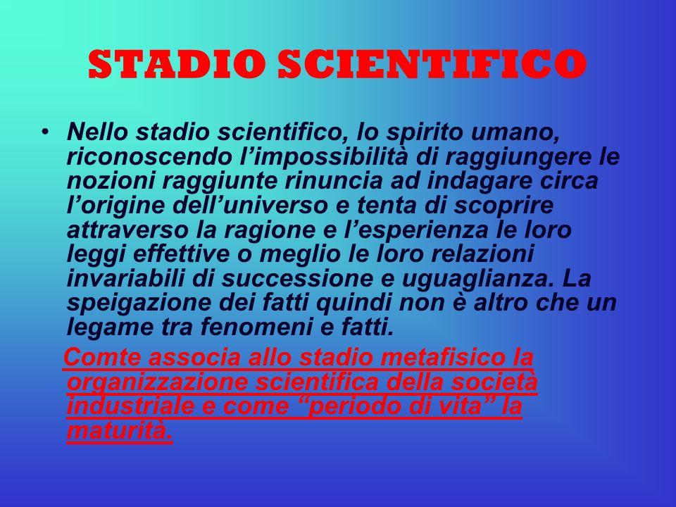 STADIO SCIENTIFICO