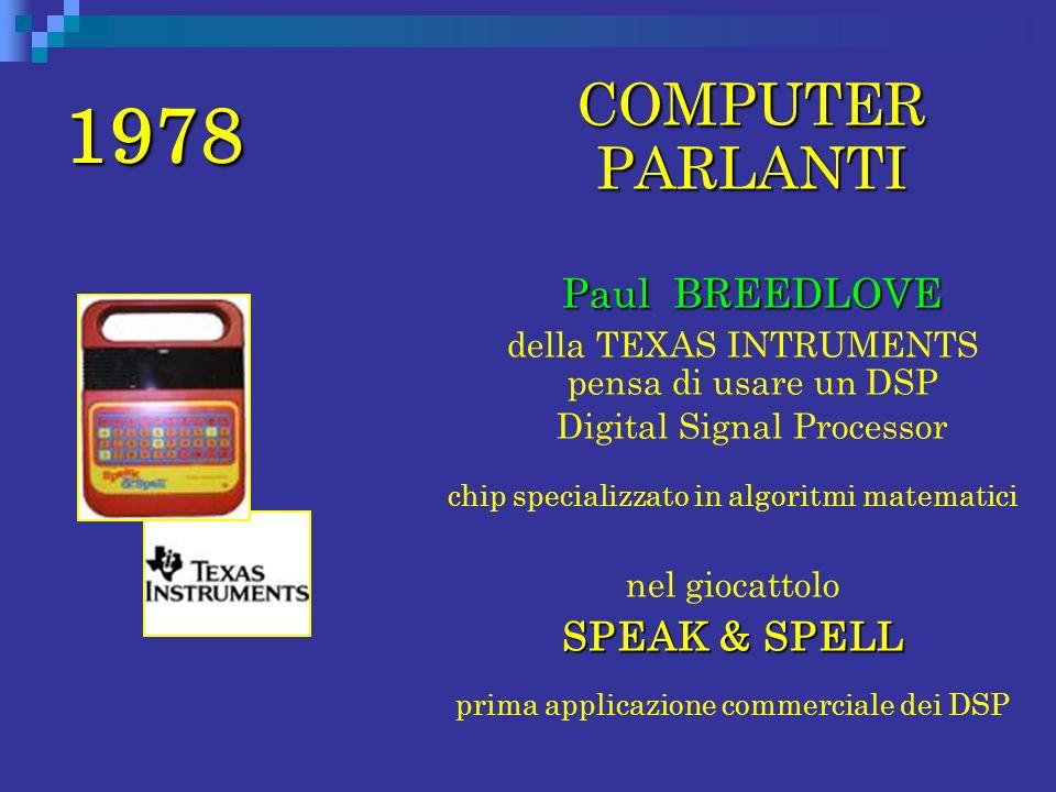 1978 COMPUTER PARLANTI Paul BREEDLOVE SPEAK & SPELL