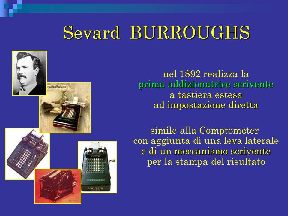 Sevard BURROUGHS