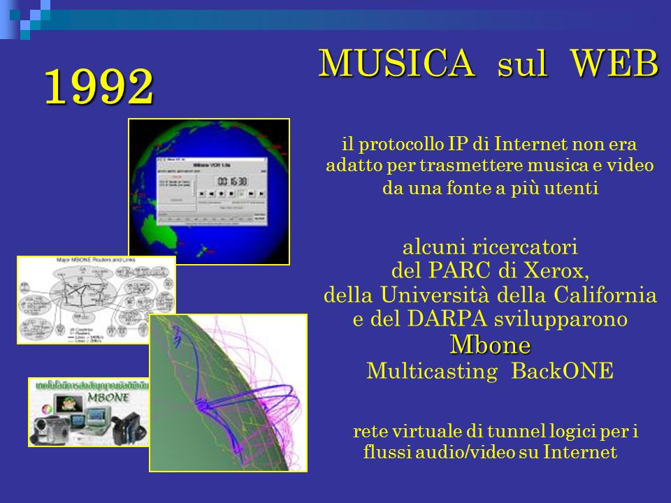 rete virtuale di tunnel logici per i flussi audio/video su Internet