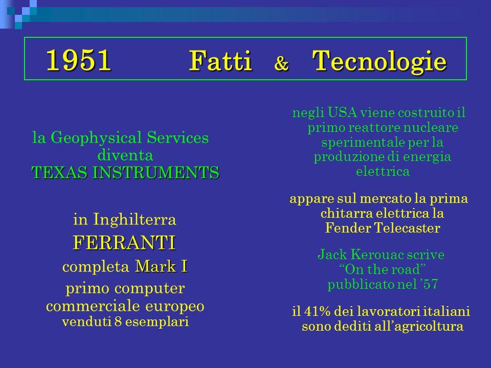 1951 Fatti & Tecnologie FERRANTI