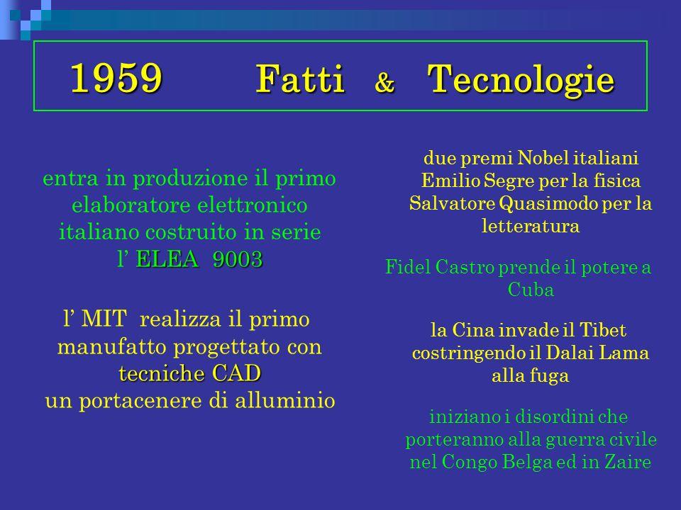 1959 Fatti & Tecnologie