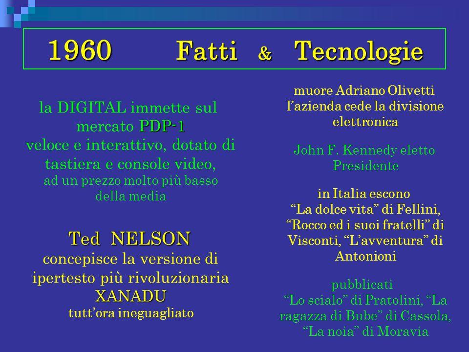 1960 Fatti & Tecnologie