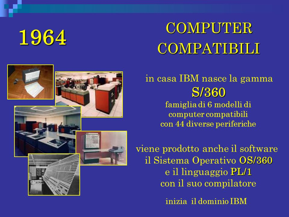 1964 COMPUTER COMPATIBILI.