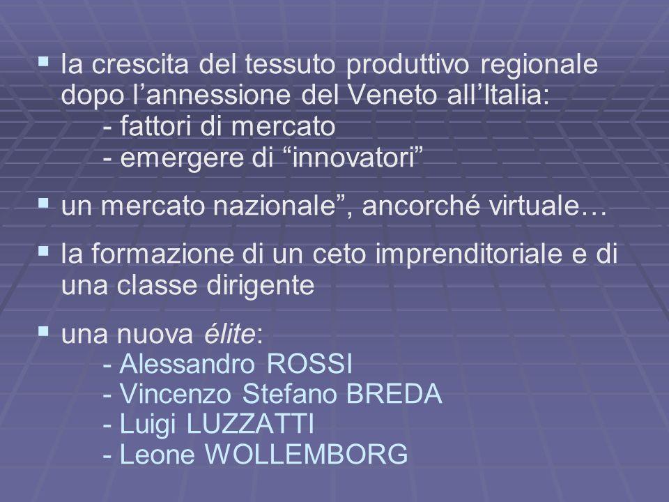 - emergere di innovatori un mercato nazionale , ancorché virtuale…
