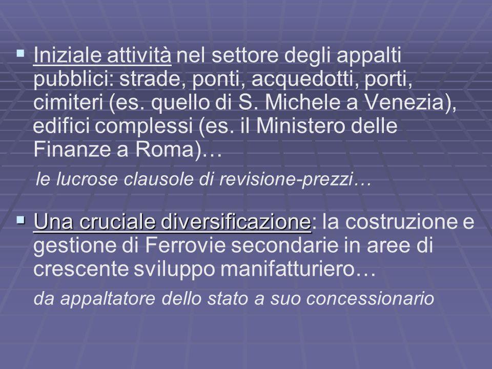 edifici complessi (es. il Ministero delle Finanze a Roma)…