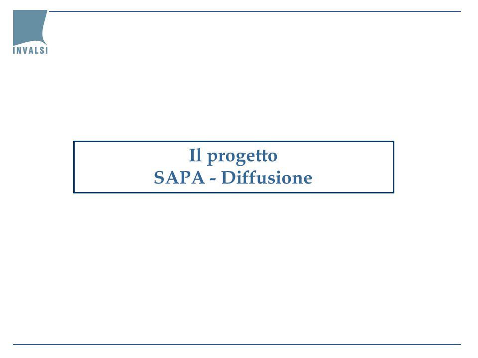 Il progetto SAPA - Diffusione