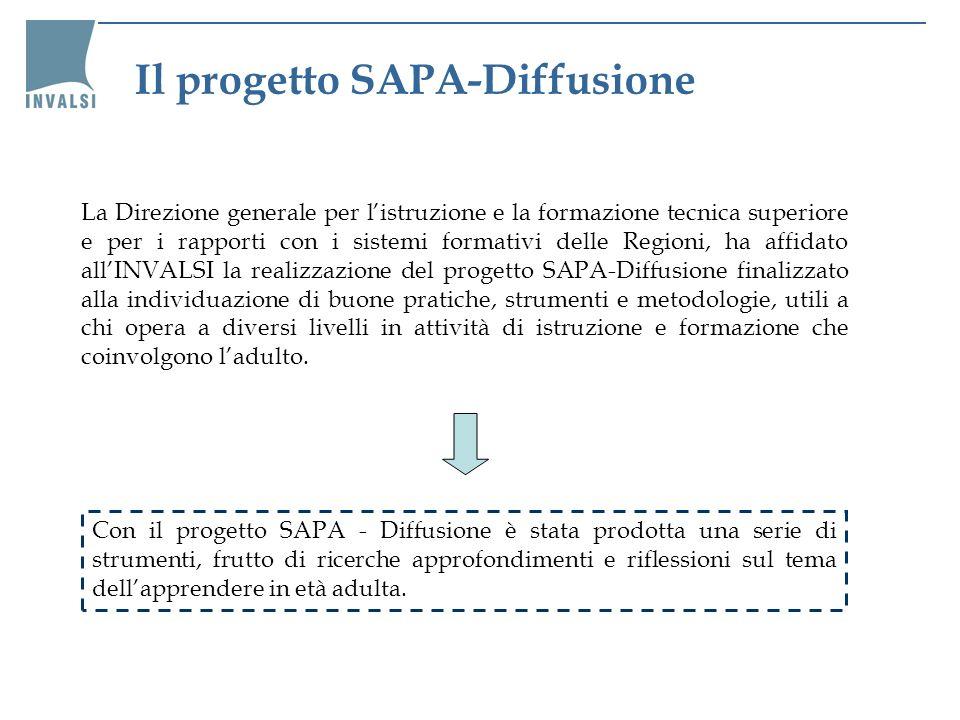 Il progetto SAPA-Diffusione