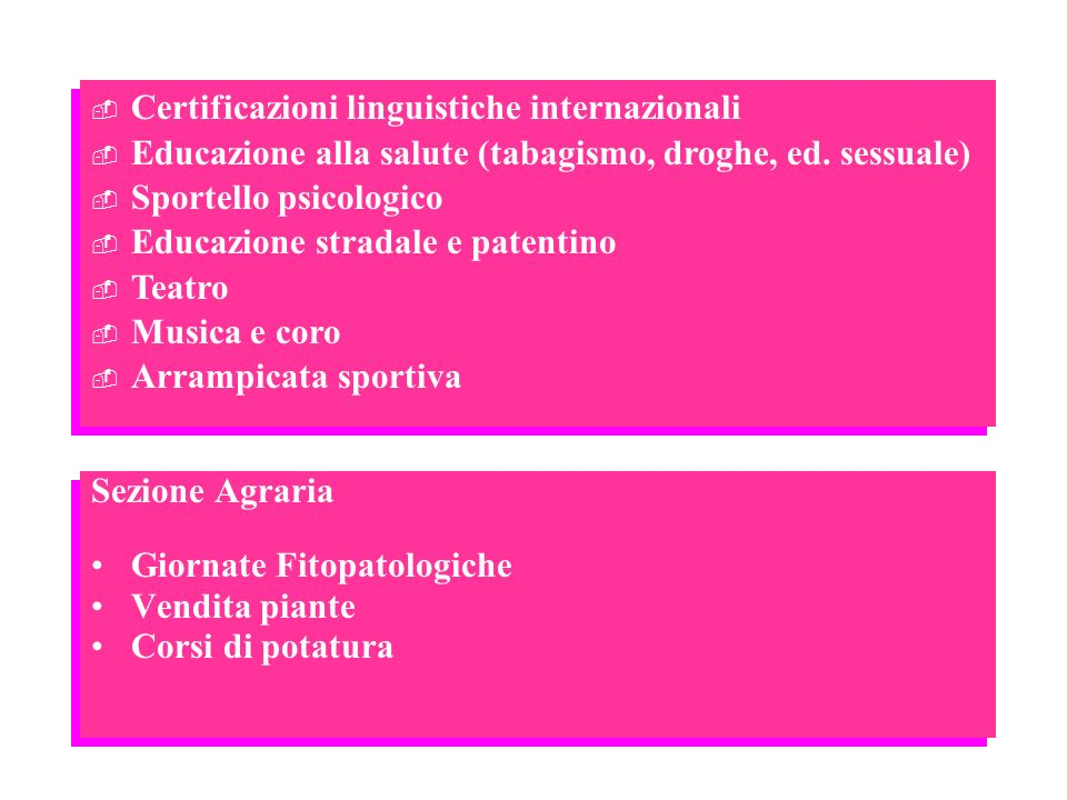 Certificazioni linguistiche internazionali
