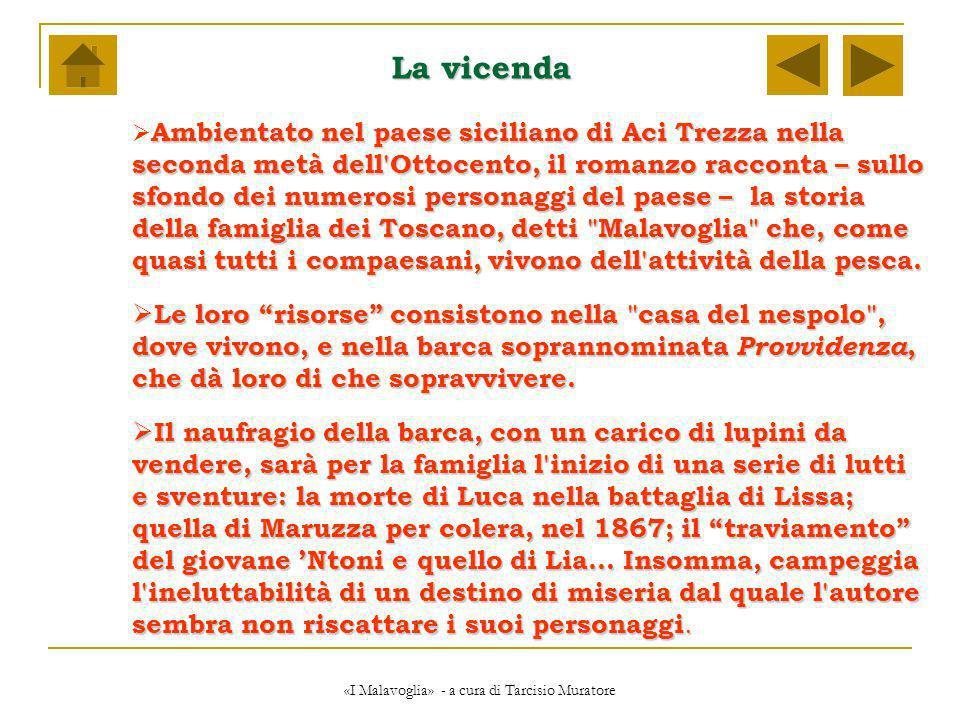 «I Malavoglia» - a cura di Tarcisio Muratore