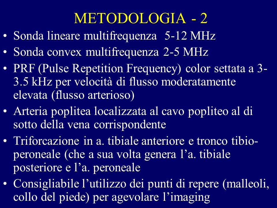 METODOLOGIA - 2 Sonda lineare multifrequenza 5-12 MHz