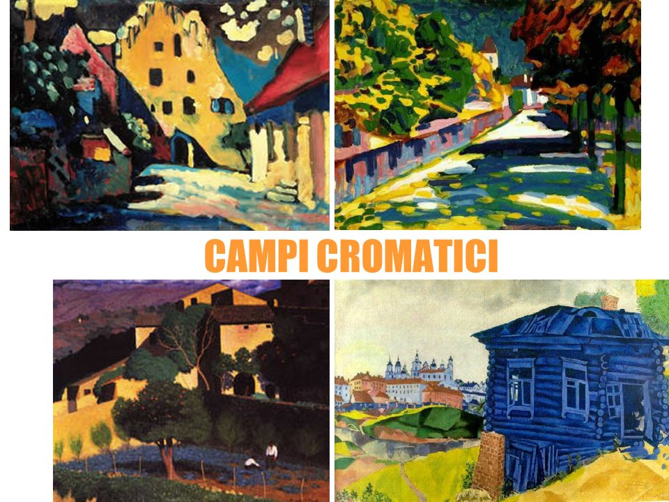 Wassily Kandinsky CAMPI CROMATICI Felix Vallotton Marc Chagall