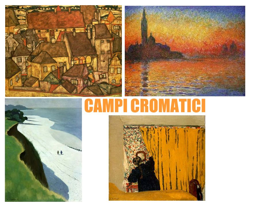CAMPI CROMATICI Egon Schiele Claude Monet Felix Vallotton