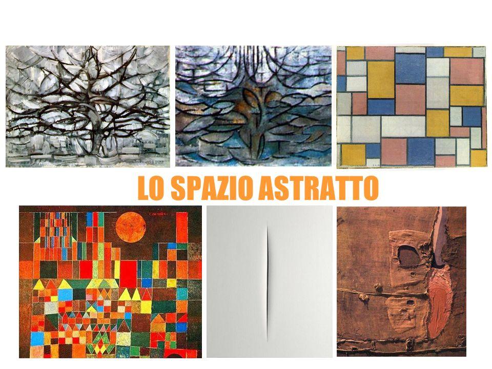 Piet Mondrian LO SPAZIO ASTRATTO Paul Klee Lucio Fontana Alberto Burri