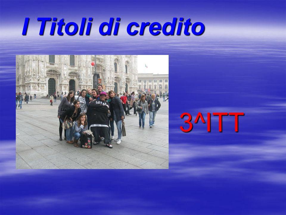 I Titoli di credito 3^ITT