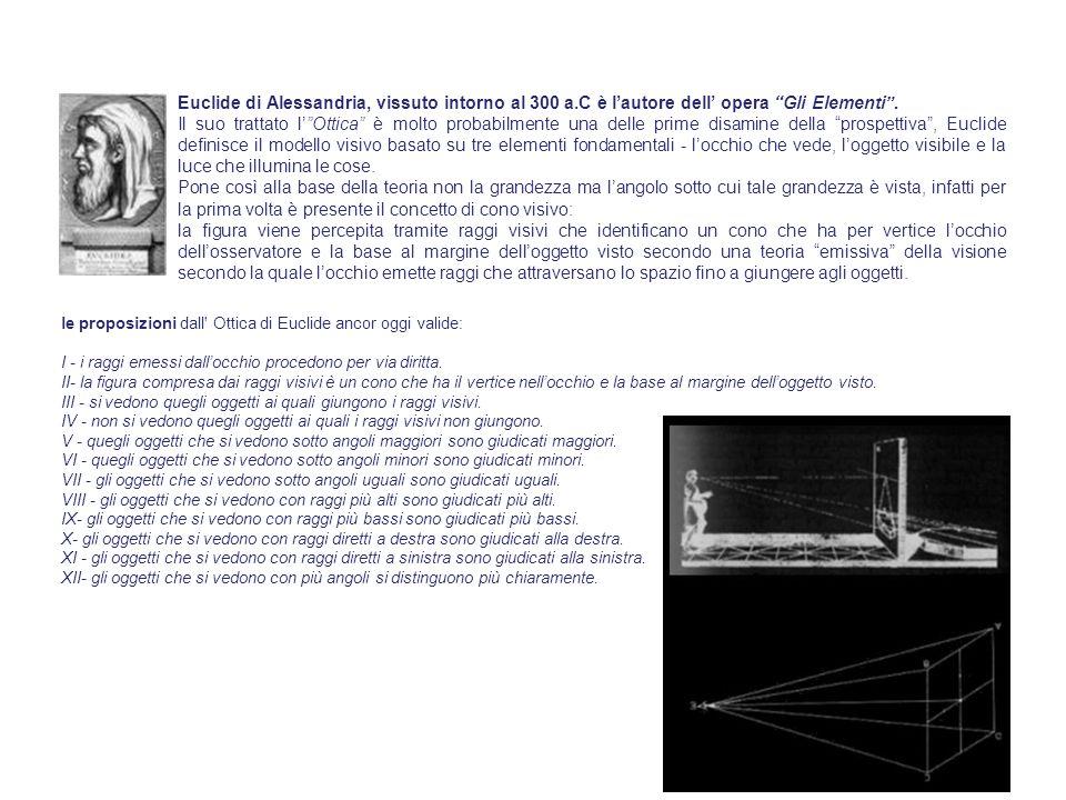 Euclide di Alessandria, vissuto intorno al 300 a