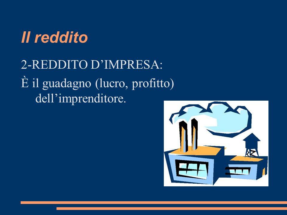 Il reddito 2-REDDITO D'IMPRESA: