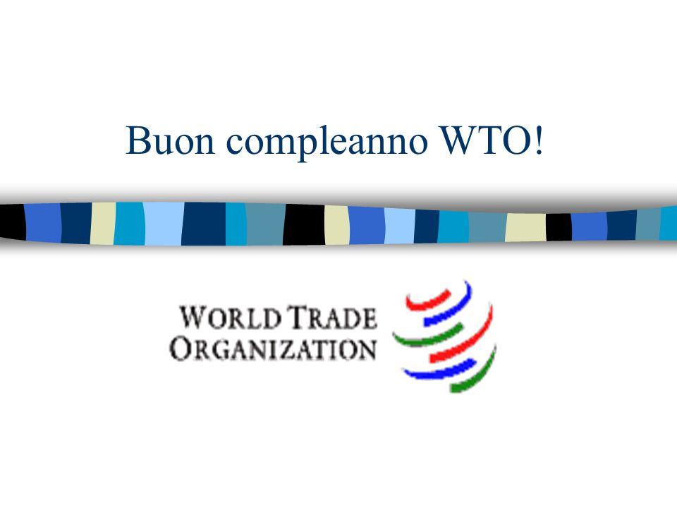 Buon compleanno WTO!