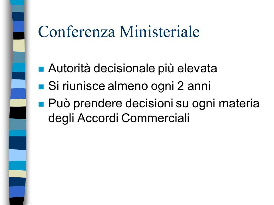 Conferenza Ministeriale