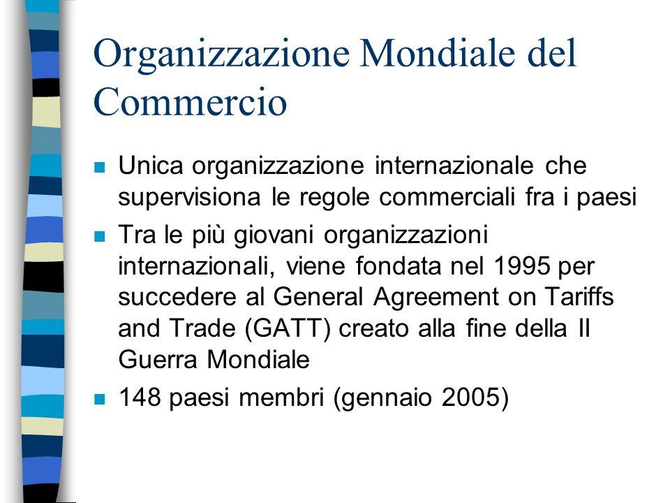 Organizzazione Mondiale del Commercio