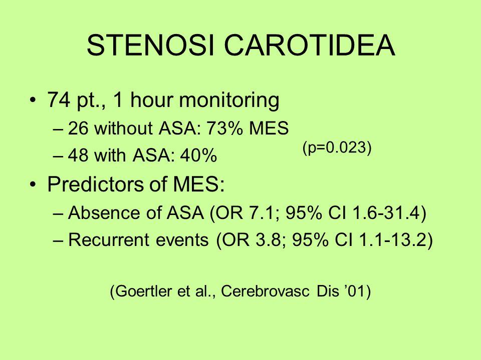 (Goertler et al., Cerebrovasc Dis '01)