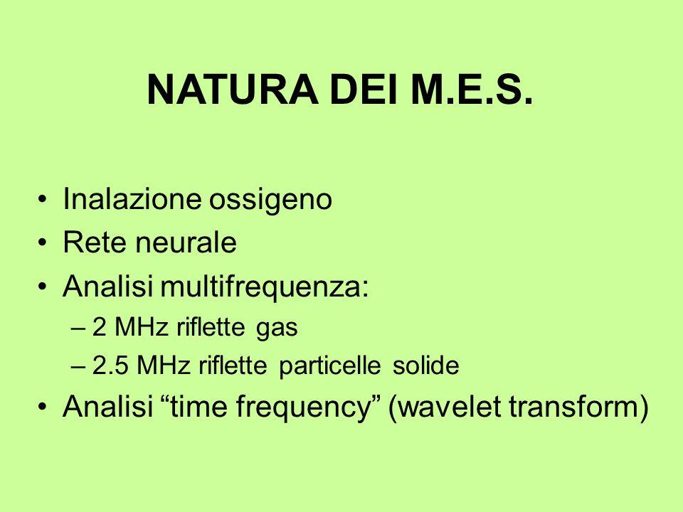 NATURA DEI M.E.S. Inalazione ossigeno Rete neurale