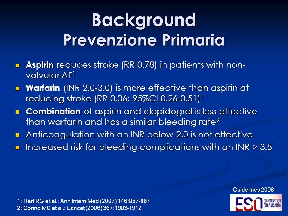 Background Prevenzione Primaria