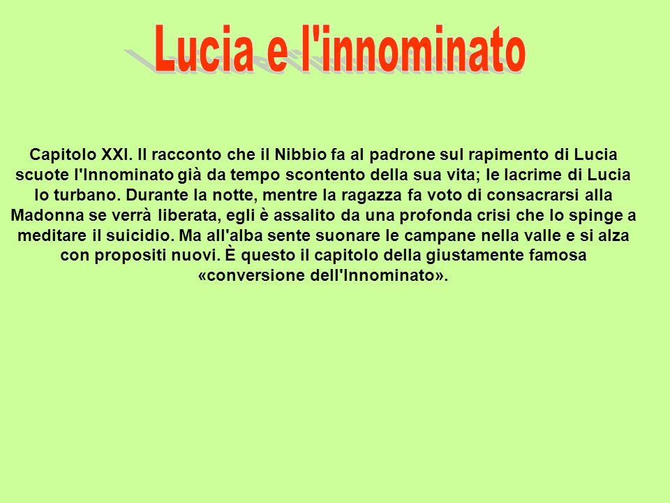 Lucia e l innominato