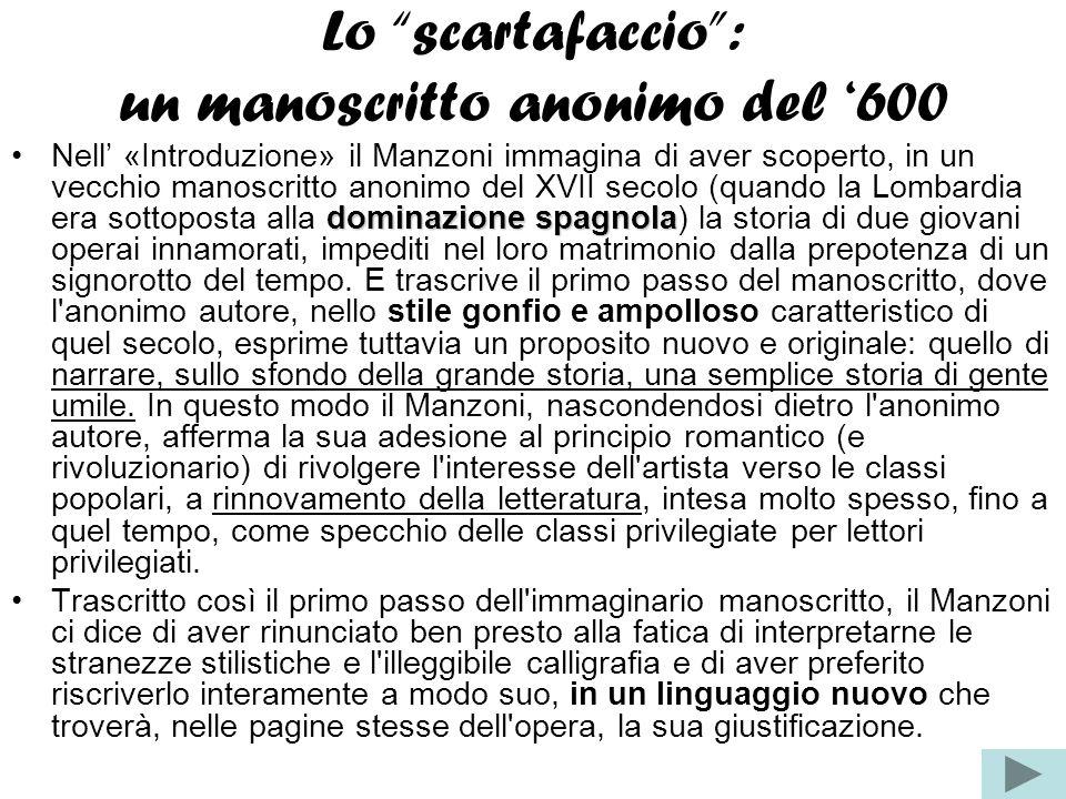 Lo scartafaccio : un manoscritto anonimo del '600