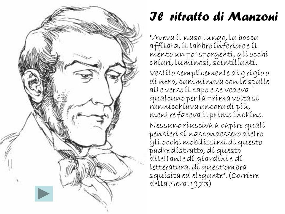 Il ritratto di Manzoni