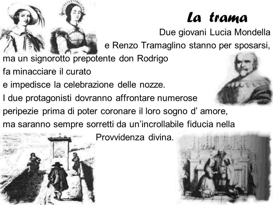 La trama Due giovani Lucia Mondella
