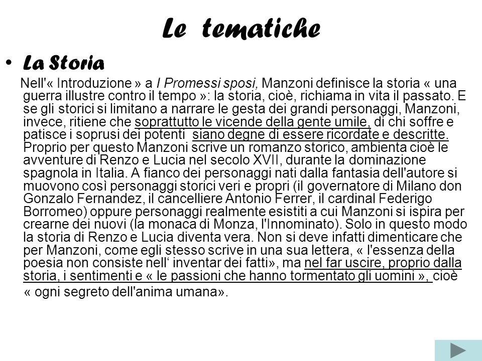 Le tematicheLa Storia.