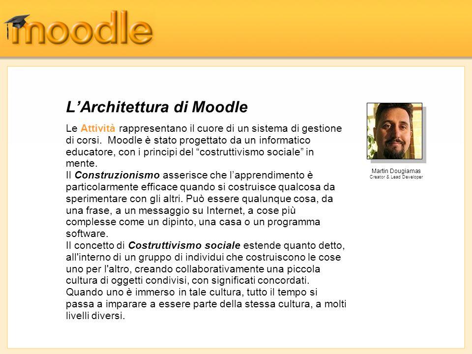 L'Architettura di Moodle