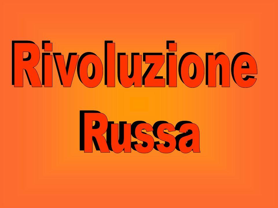 Rivoluzione Rivoluzione Russa Russa