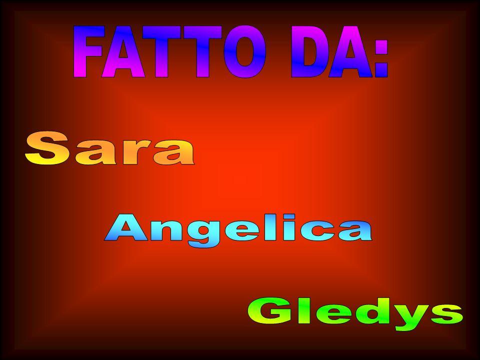 FATTO DA: Sara Angelica Gledys