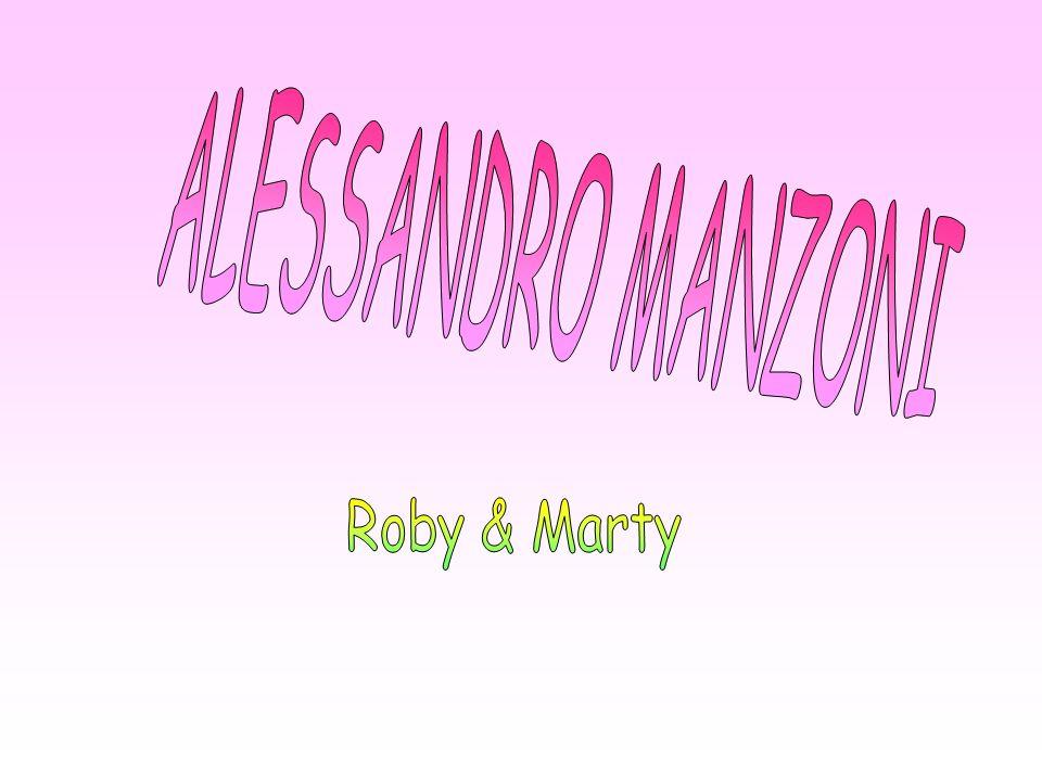 ALESSANDRO MANZONI Roby & Marty