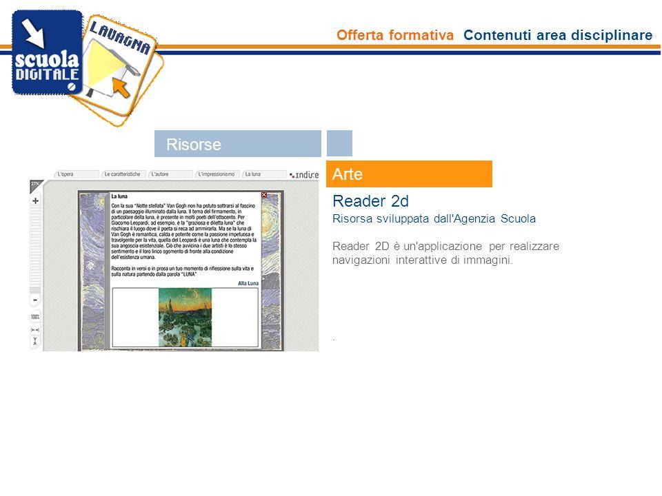 Risorse Arte Reader 2d Esperti