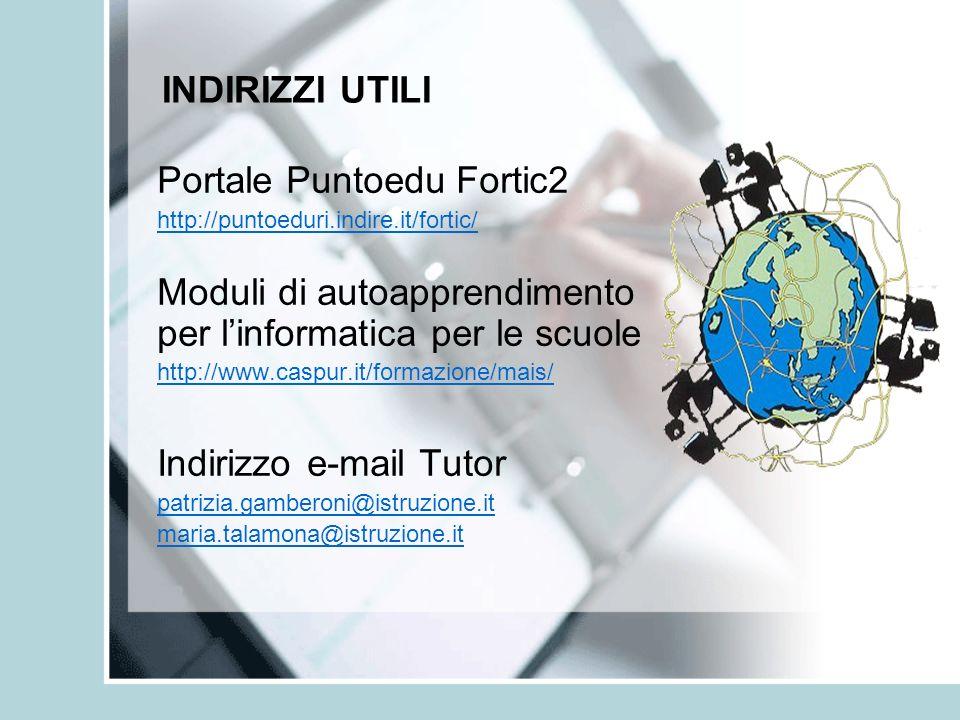 Portale Puntoedu Fortic2