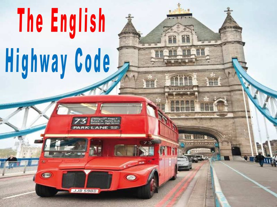 The English Highway Code